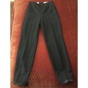 Black Escada Pants